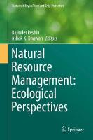 Natural Resource Management: Ecological Perspectives - Sustainability in Plant and Crop Protection (Hardback)