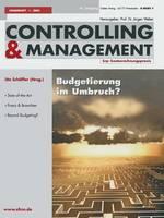 Budgetierung Im Umbruch ? - Zfcm-Sonderheft 1 (Paperback)