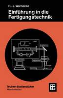 Einf hrung in Die Fertigungstechnik (Paperback)