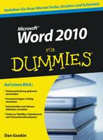 Word 2010 fur Dummies - Fur Dummies (Paperback)