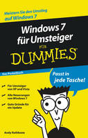Windows 7 Fur Umsteiger Fur Dummies: Das Pocketbuch (Paperback)
