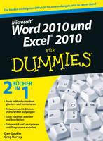 Word 2010 und Excel 2010 Fur Dummies (Paperback)