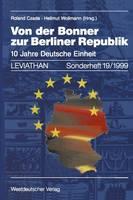 Von Der Bonner Zur Berliner Republik - Leviathan Sonderhefte 19 (Paperback)