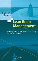 Lean Brain Management: Erfolg Und Effizienzsteigerung Durch Null-Hirn (Book)