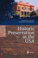 Historic Preservation in the USA (Hardback)