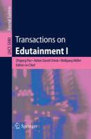 Transactions on Edutainment I - Transactions on Edutainment 5080 (Paperback)