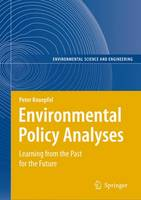 Environmental Policy Analyses: Learning from the Past for the Future - 25 Years of Research - Environmental Science (Hardback)