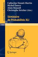 Seminaire de Probabilites: No. 12 - Lecture Notes in Mathematics v. 1934 (Paperback)