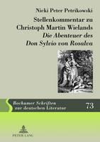 """Stellenkommentar Zu Christoph Martin Wielands """"Die Abenteuer Des Don Sylvio Von Rosalva"""""""