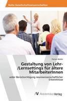 Gestaltung Von Lehr-/Lernsettings Fur Altere Mitarbeiterinnen (Paperback)