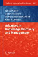 Advances in Knowledge Discovery and Management - Studies in Computational Intelligence 292 (Paperback)