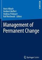 Management of Permanent Change (Paperback)