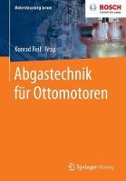 Abgastechnik Fur Ottomotoren - Motorsteuerung Lernen (Paperback)
