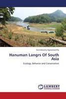 Hanuman Langrs of South Asia (Paperback)