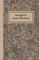 Erinnerungen an Heinrich Curschmann (Paperback)