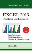 Excel 2013. Probleme und Loesungen. Band 1: Dateifunktionen, Editierfunktionen, Formate & Formatierungen (Paperback)