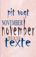 November: Texte (Paperback)