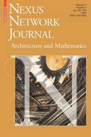 Nexus Network Journal 11,3: Architecture and Mathematics - Nexus Network Journal 11,3 (Paperback)