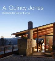 A. Qunicy Jones: Building For Better Living (Hardback)