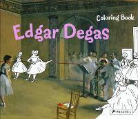 Edgar Degas: Coloring Book - Coloring Books (Paperback)