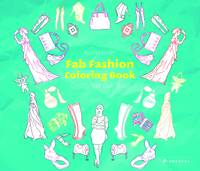 Fab Fashion: Coloring Book (Paperback)