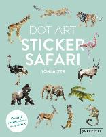 Dot Art Sticker Safari