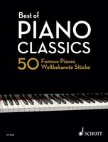 Best of Piano Classics: 50 Famous Pieces for Piano (Book)