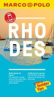 Rhodes Marco Polo Pocket Travel Guide - with pull out map (Paperback)
