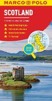 Scotland Marco Polo Map: Also covers Northern England - Marco Polo Maps (Sheet map, folded)