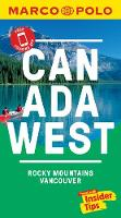Canada West Marco Polo Pocket Travel Guide - with pull out map: Vancouver and the Rockies - Marco Polo Travel Guides (Paperback)