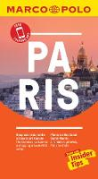 Paris Marco Polo Pocket Travel Guide - with pull out map - Marco Polo Travel Guides (Paperback)