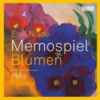 Emil Nolde: Memospiel Blumen / Pairs Flowers