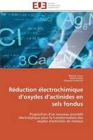 R duction lectrochimique D Oxydes D Actinides En Sels Fondus - Omn.Univ.Europ. (Paperback)