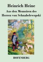 Aus den Memoiren des Herren von Schnabelewopski (Paperback)