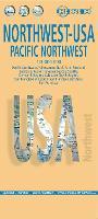 USA 2017: USA 1 Northwest - Pacific Northwest Northwest - Pacific Northwest 1 (Sheet map, folded)