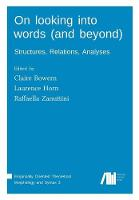 On Looking Into Words (and Beyond) (Paperback)