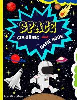 Space Coloring And Game Book (Paperback)
