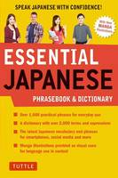 Essential Japanese Phrasebook & Dictionary: Speak Japanese with Confidence! (Paperback)