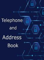 Telephone and Address Book: Large Print Phone Book and Adresses Book with Tabs (Hardback)
