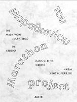 Marathon Marathon: in Athens 31. Oktober 2010 (Paperback)