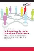 La importancia de la comunicacion interna (Paperback)