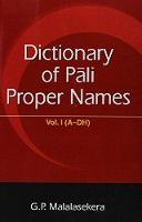 Dictionary of Pali Proper Names