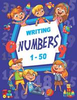 Writing Numbers 1-50 (Paperback)