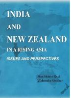 India and New Zealand in a Rising Asia