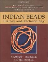 Indian Beads History and Technology (Hardback)