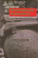 The Origins of Development Economics (Paperback)
