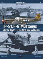 P-51/F-6 Mustangs with Usaaf - in the Mto - SMI Library (Paperback)