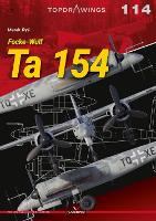 Focke-Wulf Ta 154 - Top Drawings (Paperback)