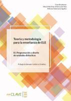 Teoria y metodologia para la ensenanza de ELE: Volumen III - Programacio (Paperback)