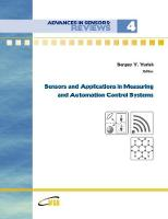 Advances in Sensors: Reviews, Vol.4 'Sensors and Applications in Measuring and Automation Control Systems' (Paperback)